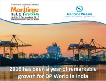 2016 has been a year of remarkable growth for DP World in India.