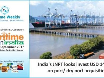 #MaritimeBlog: India's JNPT looks at investing USD 147 Mln for port/ dry port acquisition.