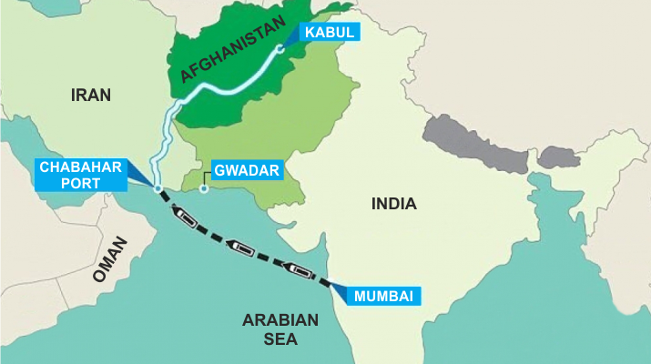 New india afghanistan trade lane opened with the inauguration of new india afghanistan trade lane opened with the inauguration of irans chabahar port gumiabroncs Image collections
